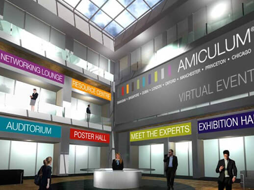 Innovative use of technology to bring virtual events to life and ensure that meetings are productive